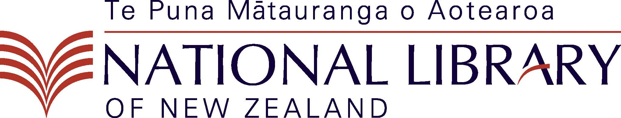 National Library Logo - Colour